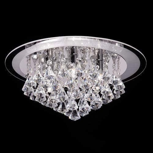Crystal Ceiling Six Light Renner-6Ch