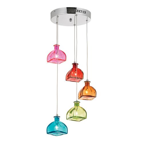 Sarandon Pendant Light Sarandon-5 Multi