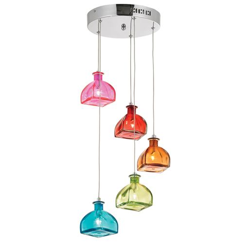 Sarandon 5multi sarandon pendant light the lighting for Luminaire double suspension