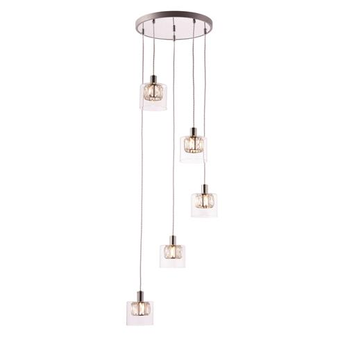 Verina 5 Light Spiral Ceiling Pendant 76520