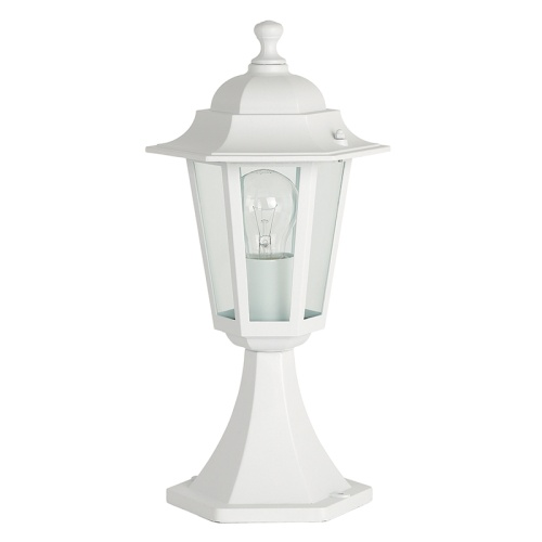 White Outdoor Post Light Yg-2003