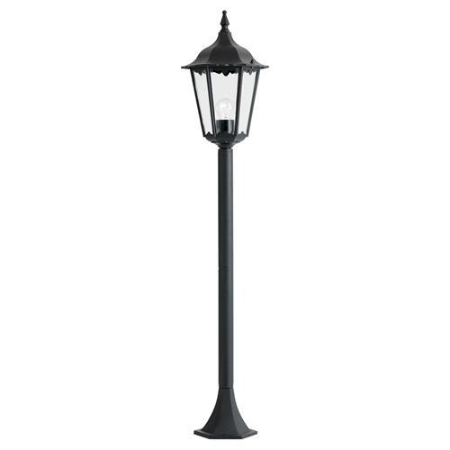 Burford Black Outdoor Post Light Yg 3008 The Lighting