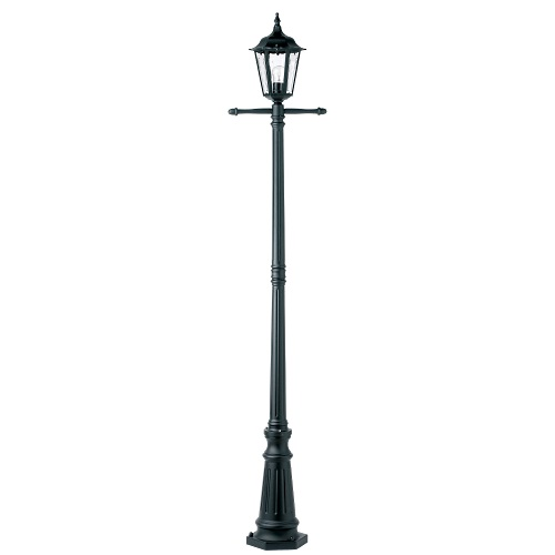 Burford Cast Aluminium Black Outdoor Post Yg-3010
