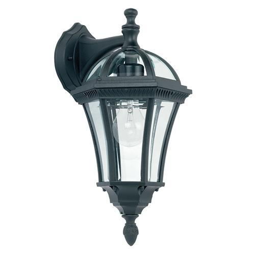 Drayton Black Outdoor Wall Light YG-3501