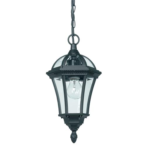Black Outdoor Chain Lantern Yg-3503