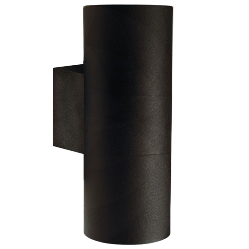 Tin Maxi Black Outdoor Two Way Wall Light 21519903