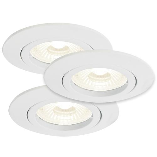 Kant 3 Light LED Recessed Spot Kit 54250101