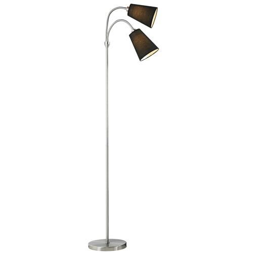 Lelio Double Arm Floor Lamp 75554003