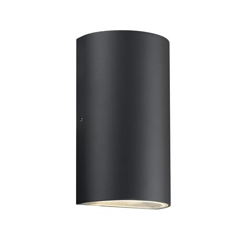 Rold Black Outdoor LED Wall Light 84141003