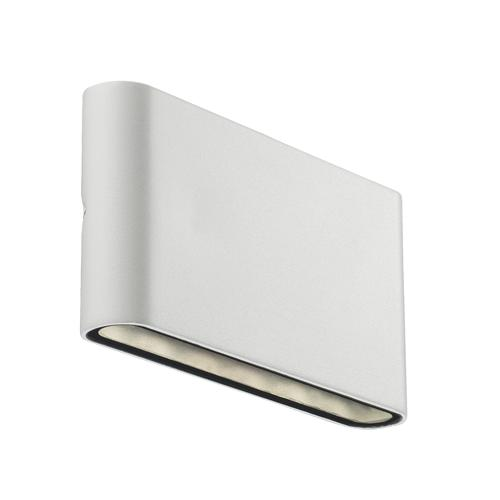84181001 Kinver LED Outdoor White Wall Light