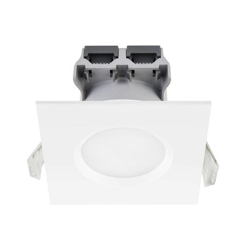 Clarkson White Square 3 Pack LED Warm White Downlights 47600101