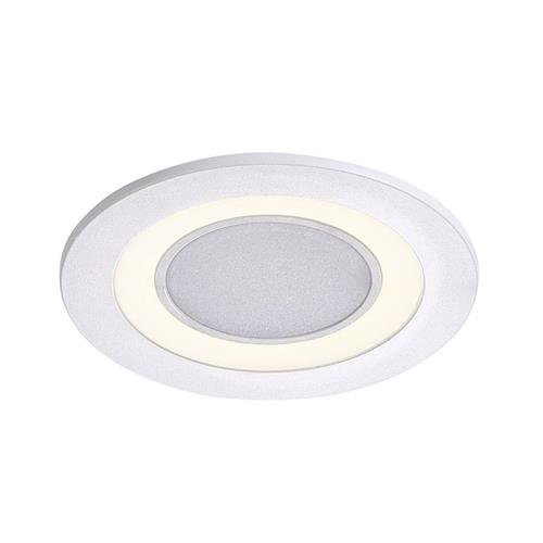 Clyde 8 LED Cool White Recessed White Downlight 47650101