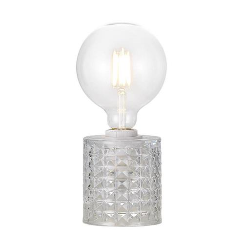 Hollywood Clear Glass Table Lamp 46645000