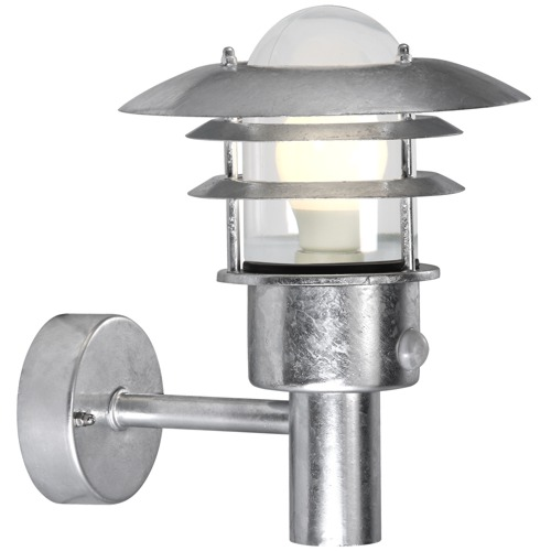 Lonstrup Outdoor PIR Light 7143 20 31 The Lighting Superstore