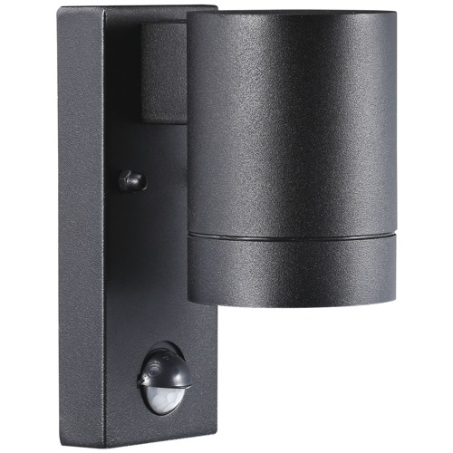 Tin Maxi Sensor Black Wall Light 21509103