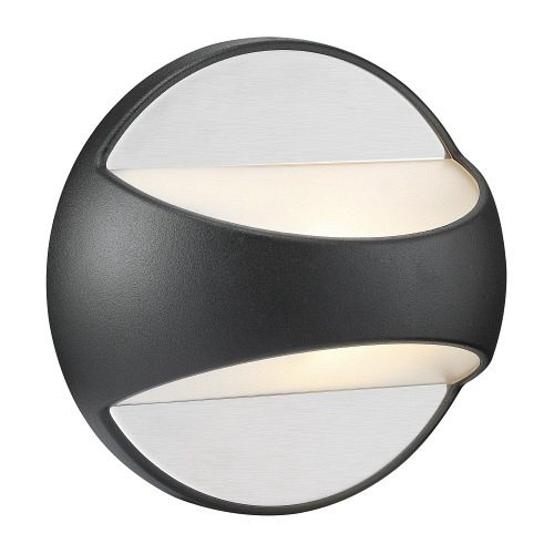 Twin Black Outdoor Wall Light 7877 10 03
