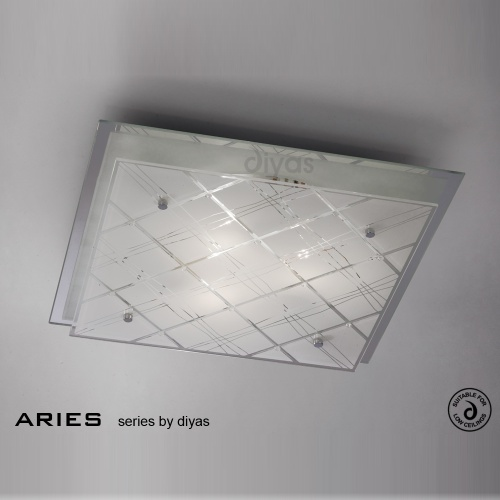 IL31283 Aries Triple Ceiling Light