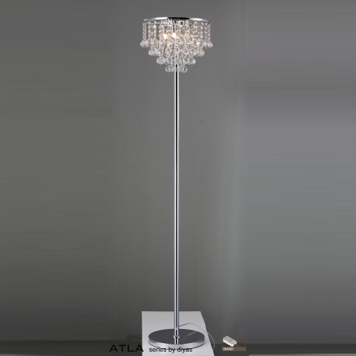 IL30029 Atla Crystal Floor Lamp
