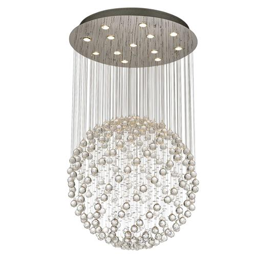 Colorado 13 Lamp Crystal Sphere Pendant Il30782