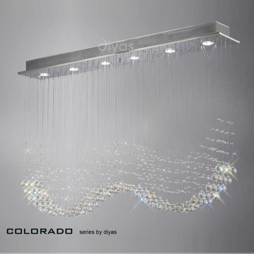 IL31380 Colorado Crystal Ceiling Light