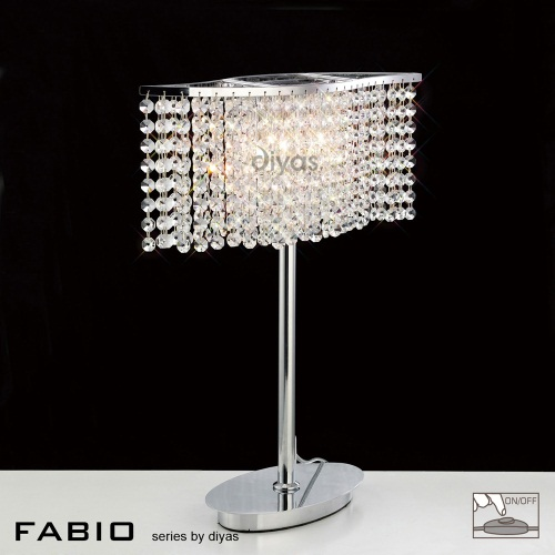 IL30575 Fabio Crystal Table Lamp The Lighting Superstore