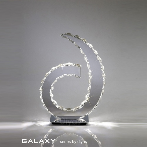 IL80000 Galaxy LED Crystal Table Lamp