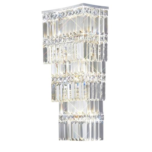 Gianni 4 Lamp Crystal Wall Light IL30640