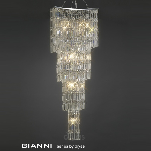 IL30644 Gianni 11 Light Crystal Pendant
