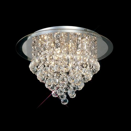 Atla Crystal Light Fitting Clear Crystals Il30009