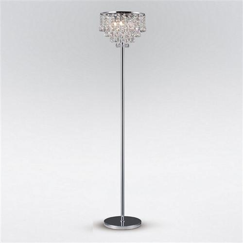 Atla Crystal Floor Lamp Il30029 The Lighting Superstore