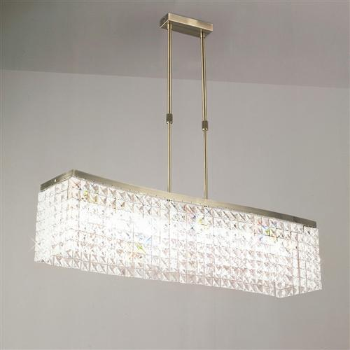 Cortina Crystal Ceiling Pendant Light Il30095