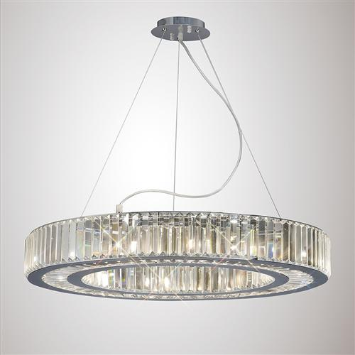 Torre 10 Light Crystal Pendant Il30099