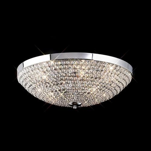 IL30188 Crystal Flush Ceiling Light