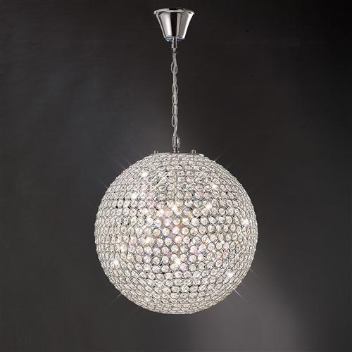 Ava crystal ceiling pendant the lighting superstore crystal ceiling pendant light il30201 mozeypictures Images