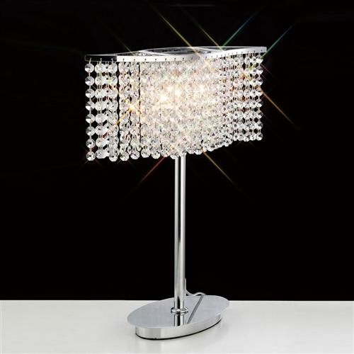 Fabio Crystal Table Lamp Il30575 The Lighting Superstore