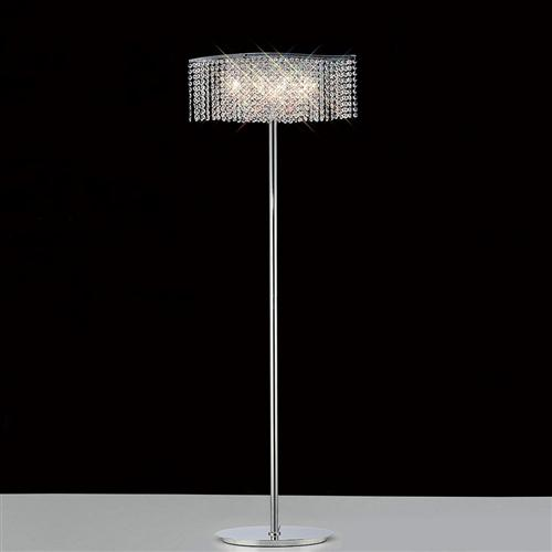 Fabio Crystal Floor Lamp Il30576