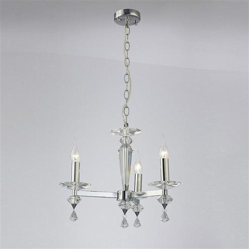 Renzo Crystal Ceiling Light Il30593