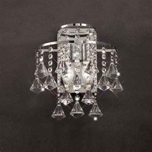 Inina Crystal Wall Light Il30774