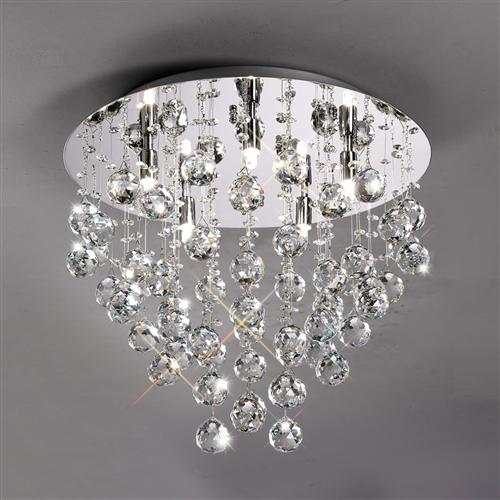 Nice Colorado Crystal Ceiling Light Il30787