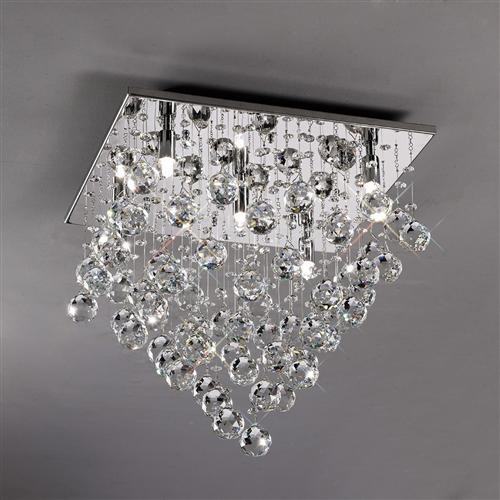 Colorado Crystal Ceiling Light Il30788