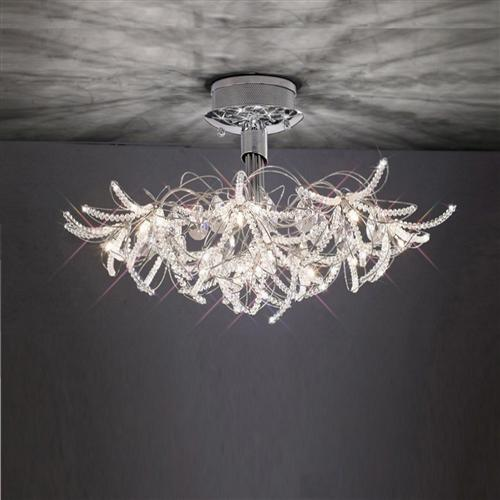 Kenzo Semi Flush Ceiling Light