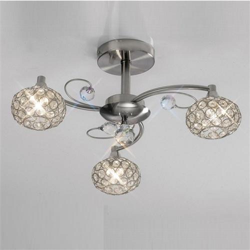 Cara 3 arm crystal ceiling light the lighting superstore cara crystal ceiling light il30933 aloadofball Choice Image