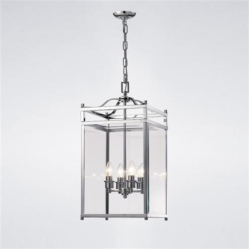 Aston 4 Light Ceiling Pendant Lantern