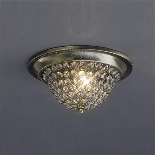 Paloma Crystal Ceiling 2 Light Il31130