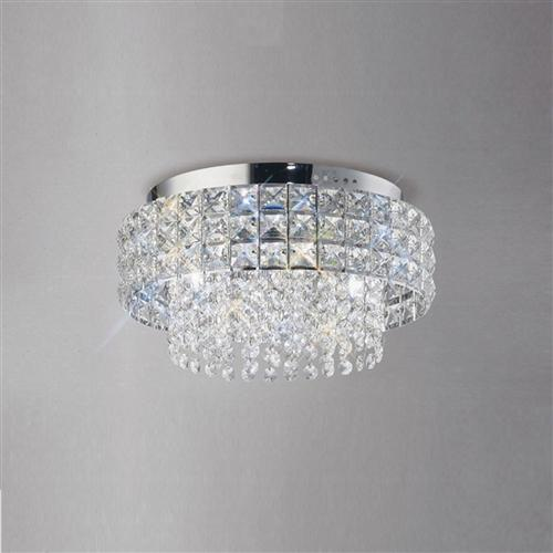 IL31150 Edison Crystal Ceiling Light