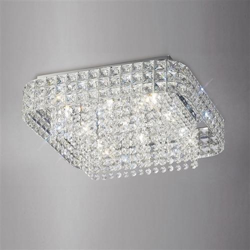 IL31153 Edison Crystal Ceiling Light