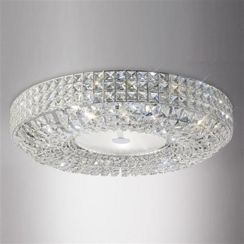 Enya Crystal Ceiling Light Il31202 The Lighting Superstore