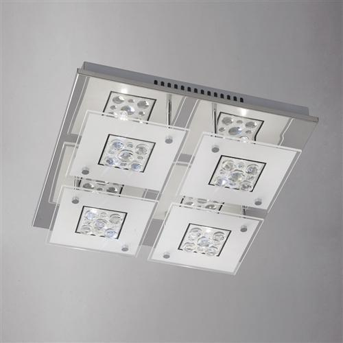 Cosmic Flush Crystal Ceiling Light Il31252