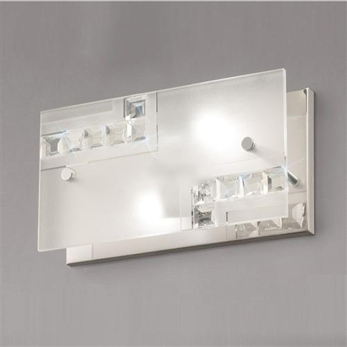 Starlet Polished Chrome Crystal Encrusted Wall Light IL31260