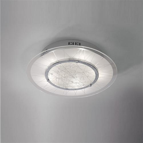 IL31311 Lindon Flush Ceiling 5 Light